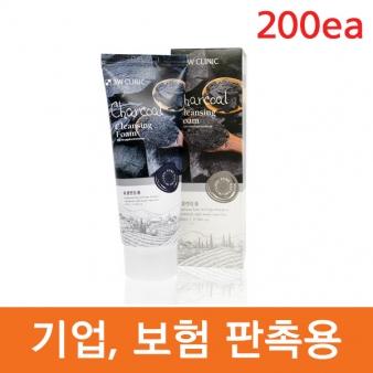3W 클리닉 숯 클렌징 폼 100mlx200ea