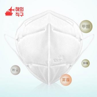 KN95 마스크 10매 (N95/KF94해당) 성인용 방역 방진 마스크/일회용마스크 10매