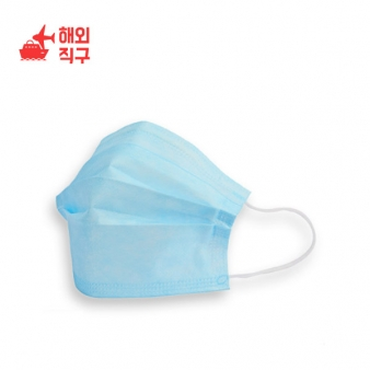 미세먼지 방역 일회용 마스크 100매 데일리 3중 필터 100매