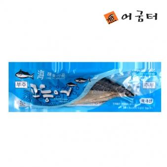 [어굼터] 해호미곶 국내산 부추 청결고등어 270g~300g/2쪽1팩