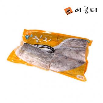 [어굼터] 해호미곶 세네갈 손질 토막 갈치 590g~610g/3쪽1팩