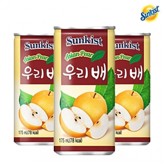 썬키스트 우리배(캔) 175ml*30