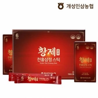 [정한삼] 황제천홍삼정스틱 10ml x 30포