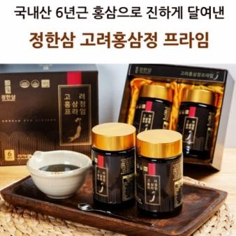 정한삼 고려홍삼정프라임 240g x 2병 세트+쇼핑백