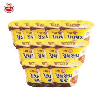 [오뚜기] 컵밥 김치참치덮밥 280g*12개