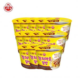 [오뚜기]컵밥 참치마요덮밥 217g*12