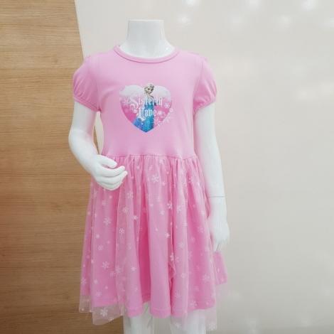 겨울왕국 윈티 여아 5부원피스(핑크)
