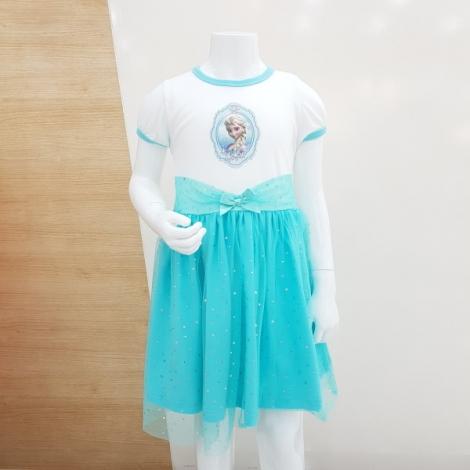 겨울왕국 민티 여아 5부원피스(민트)