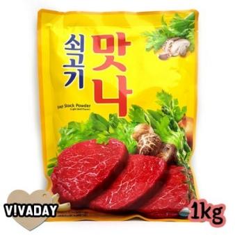 [청정원] 쇠고기 맛나 1kg