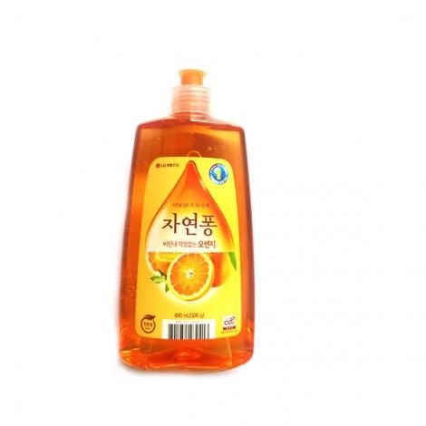 [엘지] 자연퐁 오렌지 490g (주방세제)
