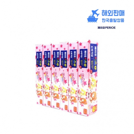 [페리오] 어린이치약(딸기) 여 75g*3 *12 어린이치약 유아용품