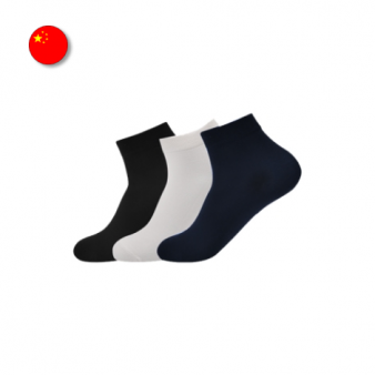 [해외직구]남성용 대나무 섬유 발목 양말