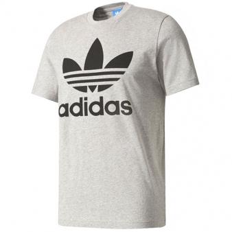아디다스 트레포일 티셔츠 GREY