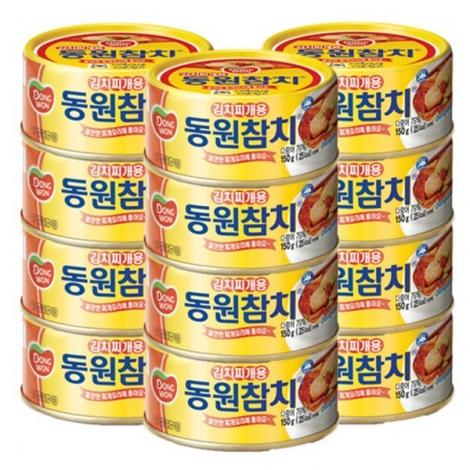 [동원] 동원김치찌개참치 100g*60