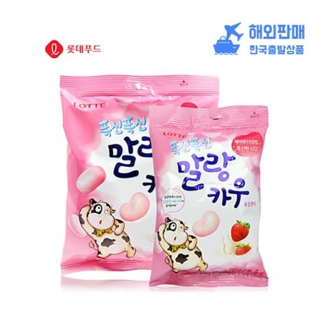 [롯데] 말랑카우(딸기) 63g*20