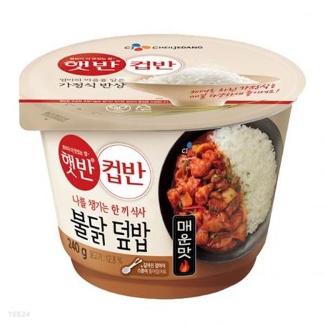 [CJ] 컵반 불닭덮밥 240g x 18