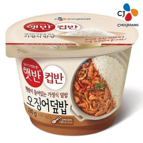 [CJ] 컵반 오징어덮밥 230g x 18