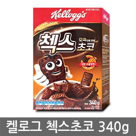 [켈로그] 오곡첵스 초코 340g*12