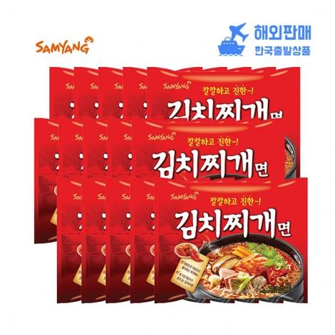 [삼양] 김치찌개면 115g*32
