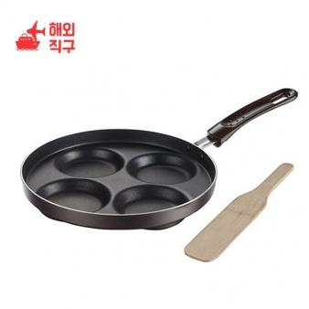 [해외직구]COCABA 계란프라이 팬케이크 후라이팬 ZD24X1000001