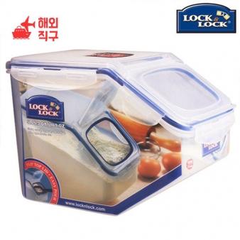 [해외직구]락앤락 플라스틱 쌀 버킷 대용량 저장 수납상자