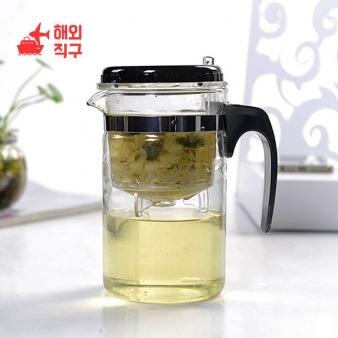 [해외직구]차 마시는 유리 컵 물병 주방 잡화