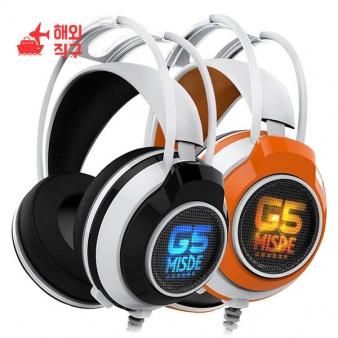 [해외직구]Cops G5 게임용 헤드셋 마이크 음악 이어폰