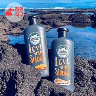 [해외직구]허벌 에센스 바이오 Renew Love Your Shore 코코넛 밀크 샴푸 컨디셔너 13.5 fl oz - 각 2 개 세트