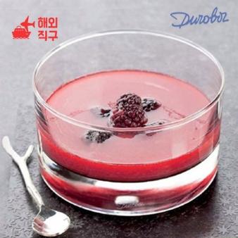 [해외직구]양식 강화유리 투명 디저트 그릇 과일 샐러드 푸딩