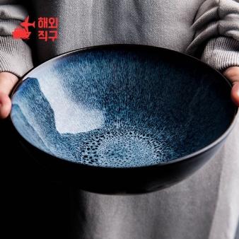 [해외직구]유럽 복고풍 도자기 그릇 집 비빔밥 수프 라면그릇