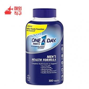 [해외직구]하루 남성 건강식 종합 비타민 300 카운트