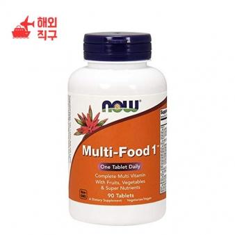 [해외직구]NOW Supplements 과일 채소 및 슈퍼 영양분이 함유 된 멀티 푸드 1 90 정