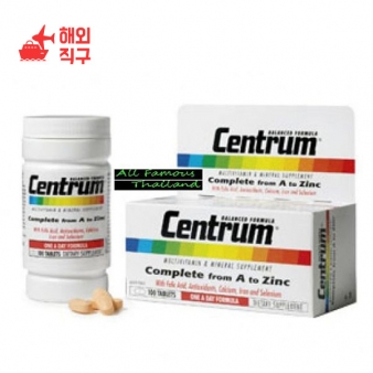 [해외직구]태국의 Centrum Multi Vitamins 30tab 제품