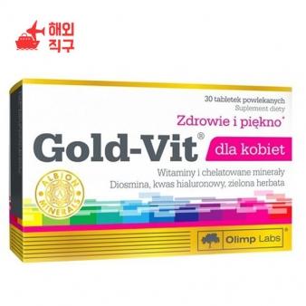 [해외직구]여성을위한 Olimp Gold-VIT 비타민 및 미네랄 30 캡