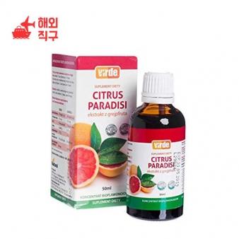 [해외직구]감귤류 파라디시 50ml / 1.69oz 바이오 플라보노이드와 VIT가 함유 된 보조 식품. 기음