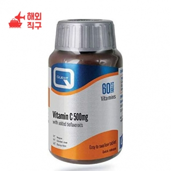 [해외직구]퀘스트 비타민 C 500mg 60 정