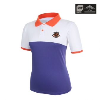 [오레이지] 여성용 컬러 배색 PK 티셔츠 1(OWTSM202)