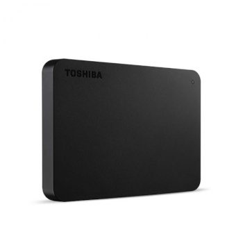 [BTS][도시바] 외장하드 칸비오 베이직3(BASICS3) 2TB [USB3.0 파우치증정] 블랙