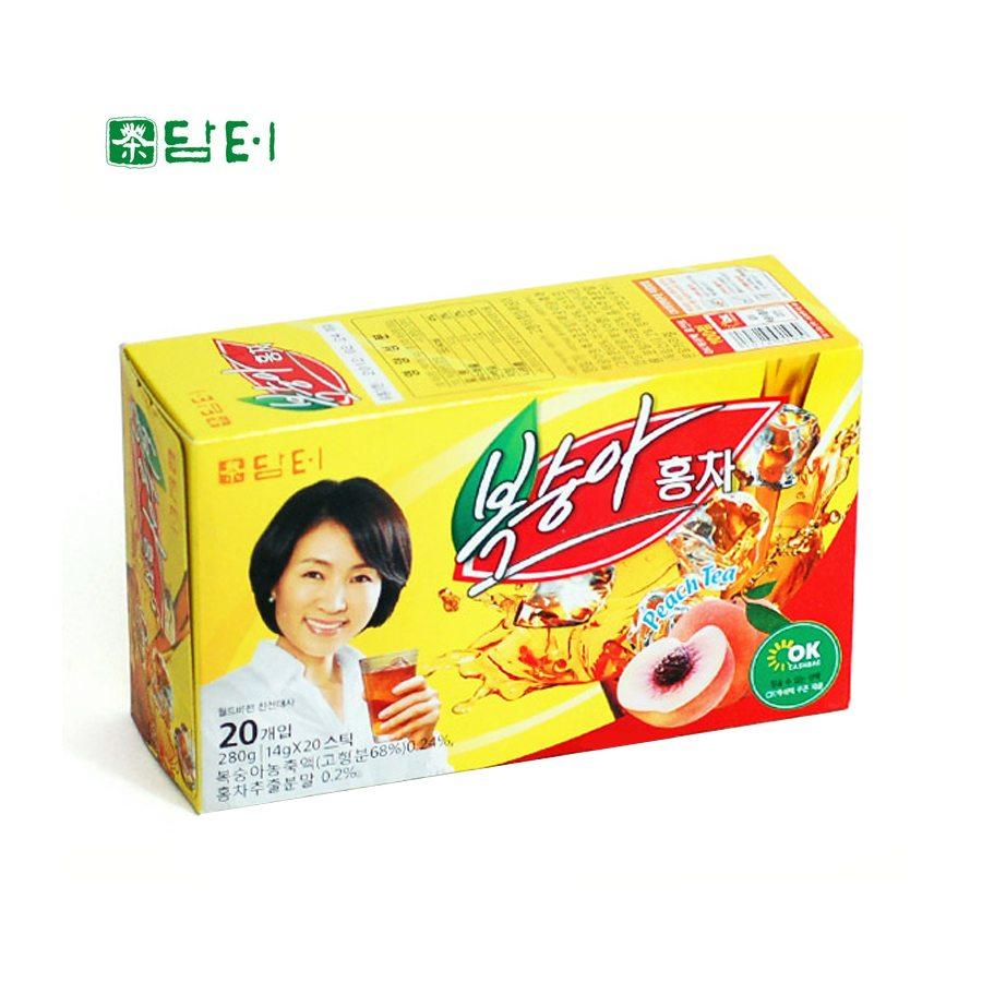 [담터] 복숭아홍차 20스틱 (280g)