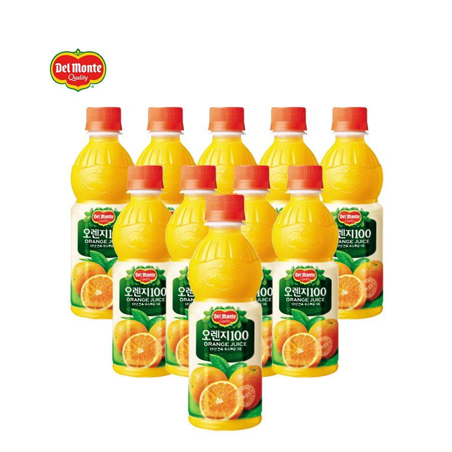 [델몬트] 오렌지100%(중) 400ml*20