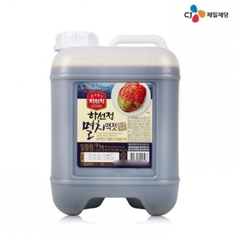 [CJ제일제당] 하선정 멸치액젓 9kg 업소용식자재 대용량식자재