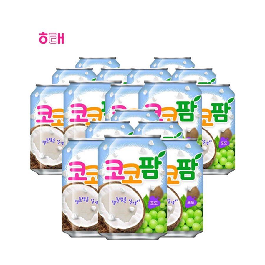 [해태] 코코팜 포도(캔) 238ml*12*6